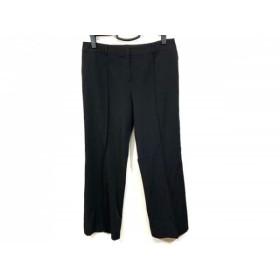 【中古】 ランバンコレクション LANVIN COLLECTION パンツ サイズ42 L レディース 黒 春・夏物