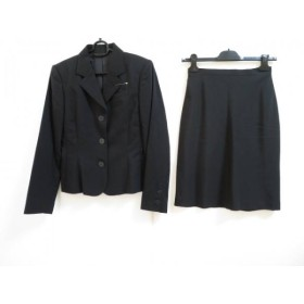 【中古】 ゴルチエ JeanPaulGAULTIER スカートスーツ サイズ40 M レディース 黒