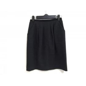 【中古】 ジャスグリッティー JUSGLITTY スカート サイズ0 XS レディース ダークグレー 黒