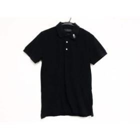 【中古】 ハイドロゲン HYDROGEN 半袖ポロシャツ サイズS メンズ 黒 スカル