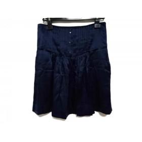 【中古】 シーバイクロエ SEE BY CHLOE スカート サイズ38 M レディース ネイビー