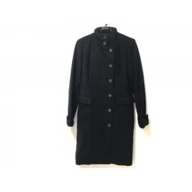 【中古】 ロートレアモン LAUTREAMONT コート サイズ3 L レディース 黒 冬物