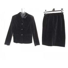 【中古】 ニューヨーカー NEW YORKER スカートスーツ サイズ9AR S レディース 黒