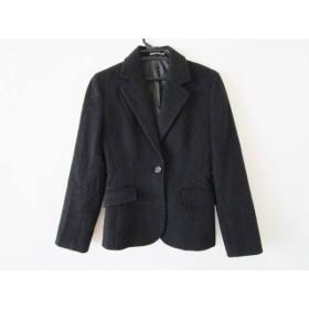 【中古】 イネド INED ジャケット サイズ9 M レディース 黒