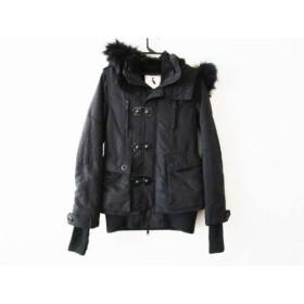 【中古】 スライ SLY コート サイズ1 S レディース 黒 冬物/SLY MILITARY