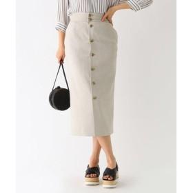 aquagirl / アクアガール スリムコンシャスフロントボタンスカート
