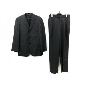 【中古】 アールニューボールド R.Newbold シングルスーツ サイズM メンズ ダークグレー
