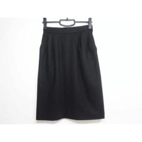 【中古】 イヴサンローラン YvesSaintLaurent スカート サイズM レディース 黒