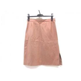 【中古】 ビブロス byblos スカート サイズ40 M レディース ライトブラウン