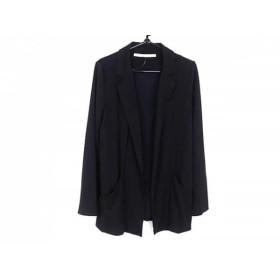【中古】 ブラックバイマウジー BLACK by moussy ジャケット サイズ2 M レディース 黒