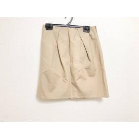 【中古】 ヨーコ チャン YOKO CHAN スカート サイズ38 M レディース ライトブラウン