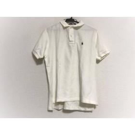 【中古】 ポロスポーツラルフローレン PoloSportRalphLauren 半袖ポロシャツ サイズL レディース 白