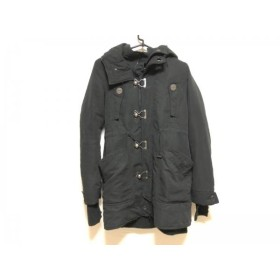【中古】 スライ SLY コート サイズ1 S レディース 黒 冬物/N3B