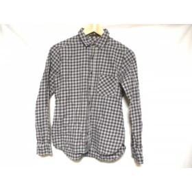 【中古】 バーンヤードストーム 長袖シャツ サイズ1 S メンズ グレー ネイビー レッド チェック柄