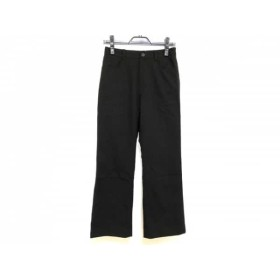 【中古】 ニコルクラブ NICOLE CLUB パンツ サイズ38 M レディース 黒