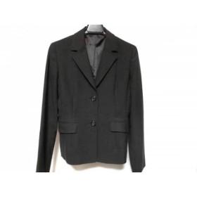 【中古】 イネド INED ジャケット サイズ1 S レディース 黒