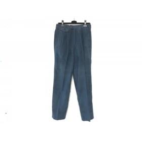 【中古】 コルネリアーニ CORNELIANI パンツ サイズ46 XL メンズ ネイビー
