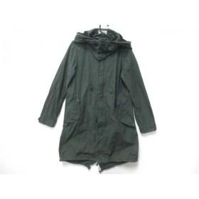 【中古】 リラクス THE RERACS コート サイズ0 XS レディース ダークグリーン 春・秋物