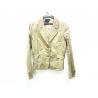 【中古】 アスペジ ASPESI ジャケット サイズ42 L レディース ベージュ