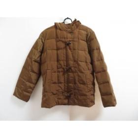 【中古】 マックスマーラウィークエンド ダウンジャケット サイズ38(I) S レディース ブラウン 冬物