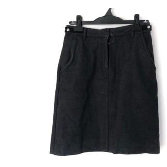 【中古】 エムエムシックス MM6 スカート サイズ42 L レディース ダークグレー
