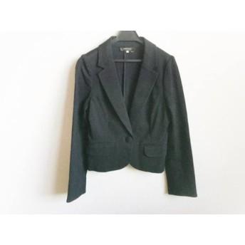 【中古】 ジャスグリッティー JUSGLITTY ジャケット サイズ1 S レディース 黒