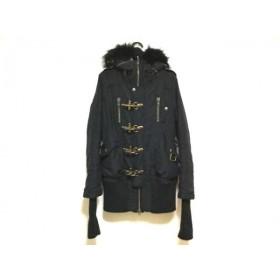 【中古】 スライ SLY コート サイズS レディース 黒 冬物