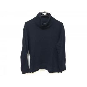 【中古】 ホワイトマウンテニアリング 長袖セーター サイズ0 XS メンズ ネイビー タートルネック