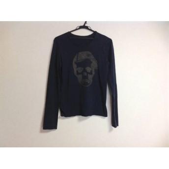 【中古】 ルシアンペラフィネ 長袖Tシャツ サイズS メンズ ダークネイビー ダークブラウン