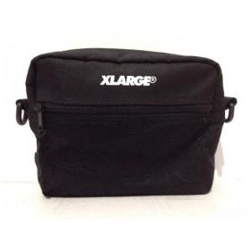【中古】 エクストララージ XLARGE バッグ 黒 ナイロン 化学繊維