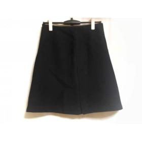 【中古】 マッキントッシュフィロソフィー スカート サイズ38 L レディース ダークネイビー