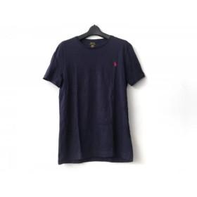 【中古】 ポロラルフローレン POLObyRalphLauren 半袖Tシャツ サイズS メンズ ネイビー