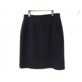 【中古】 ニジュウサンク 23区 スカート サイズ42 L レディース ダークネイビー