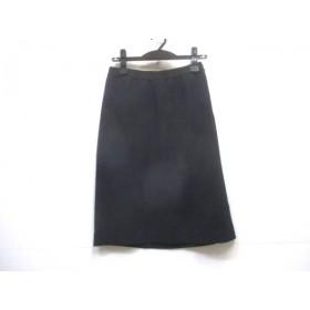 【中古】 ボディドレッシング BODY DRESSING スカート サイズ38 M レディース ネイビー