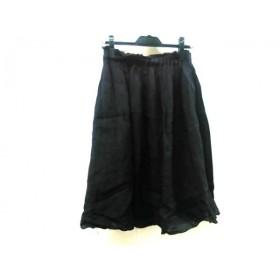 【中古】 シップス SHIPS スカート レディース 黒