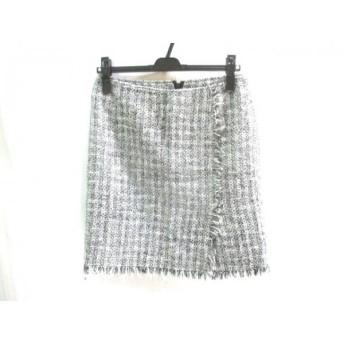 【中古】 ピンキー&ダイアン Pinky & Dianne スカート サイズ38 M レディース グレー マルチ