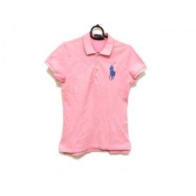 【中古】 ラルフローレン RalphLauren 半袖ポロシャツ サイズL メンズ ビッグポニー ピンク