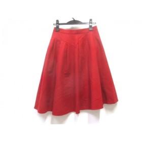 【中古】 ボディドレッシング BODY DRESSING スカート サイズ38 M レディース レッド