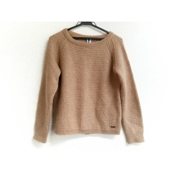 【中古】 バーク Bark 長袖セーター サイズS レディース 美品 ピンクベージュ