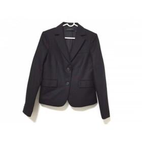 【中古】 ユナイテッドアローズ UNITED ARROWS ジャケット サイズ36 S レディース 黒