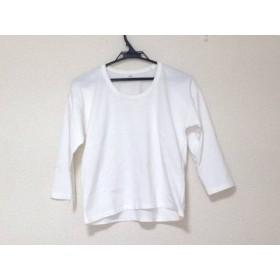 【中古】 エリン ELIN 長袖Tシャツ サイズ36 S レディース 美品 白