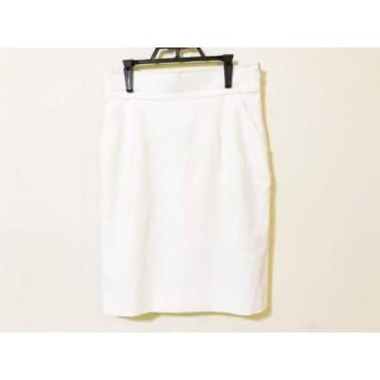 【中古】 アプワイザーリッシェ Apuweiser-riche スカート サイズ2 M レディース 白