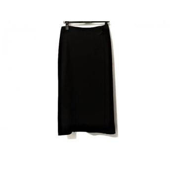 【中古】 ラルフローレン RalphLauren 巻きスカート サイズ3P レディース 黒