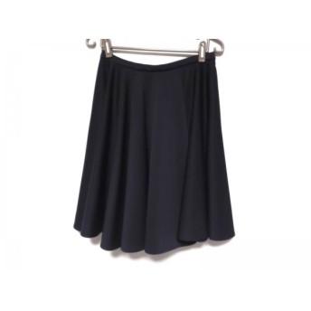 【中古】 ルシェルブルー LE CIEL BLEU スカート サイズ40 M レディース 美品 ダークネイビー