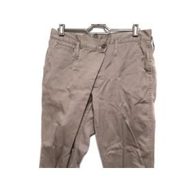 【中古】 サクラ SACRA パンツ サイズ36 S レディース ライトブラウン コットン