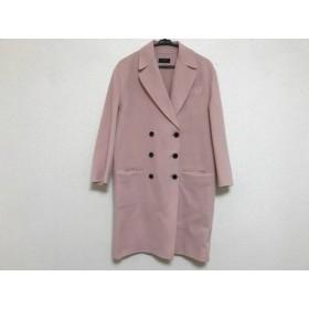 【中古】 ジョセフ JOSEPH コート サイズ36 M レディース ピンク 冬物