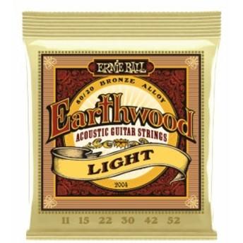 Ernie Ball Earthwood #2004 Light 011-052 アーニーボール 80/20ブロンズ アコギ弦