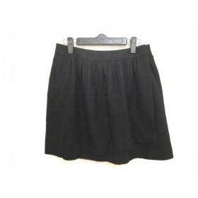 【中古】 アドーア ADORE 巻きスカート サイズ38 M レディース ブラック