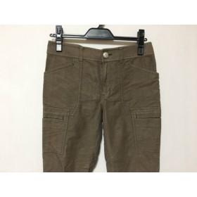 【中古】 ニジュウサンク 23区 パンツ サイズ38 M レディース ブラウン