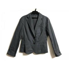【中古】 ニューヨーカー NEW YORKER ジャケット サイズ7 S レディース ダークグレー